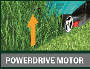 Bosch Rotak 32R Electric Rotary Lawnmower with 32 cm image 2