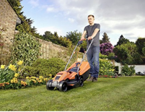 BLACK+DECKER 1200W Edge-Max Lawn Mower image 1