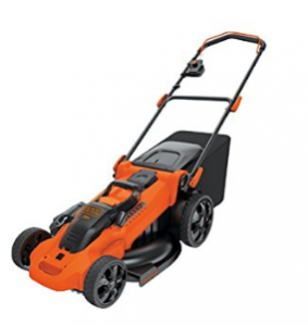 BLACK+DECKER 36 V Lithium-Ion Autosense Mower image 1