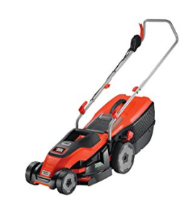 BLACK+DECKER Edge-Max Lawn Mower with 34 cm Cut  image 1