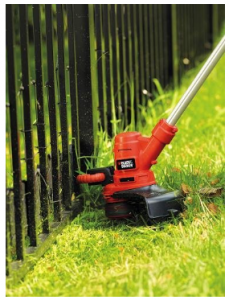 BLACK+DECKER Strimmer with Lawn Mower 550 W image 2
