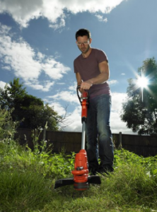 BLACK+DECKER Strimmer with Lawn Mower 550 W image 1