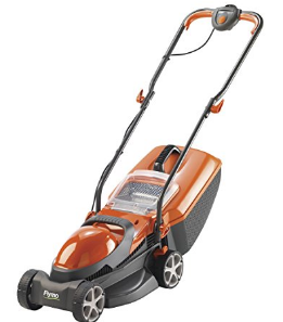 Flymo Chevron 32VC Electric 4-Wheeled Lawnmower image 1