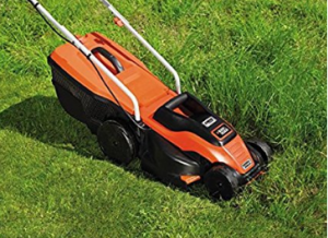 BLACK DECKER 1400W Edge Max Lawn Mower with 34 cm  image 3