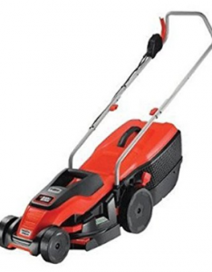 BLACK DECKER 1400W Edge Max Lawn Mower with 34 cm  image 1